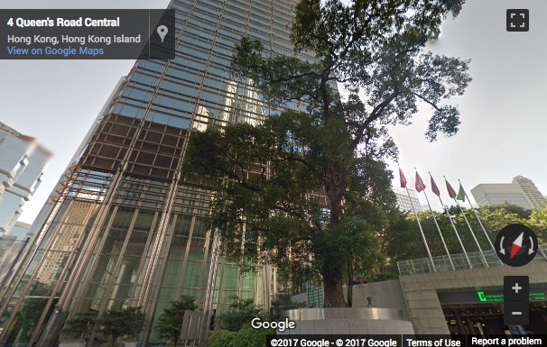 Street View image of Cheung Kong Center, 2 Queen's Road Central, Hong Kong