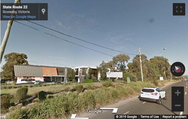 Street View image of 1330 Ferntree Gully Road, Scoresby, Melbourne, Victoria
