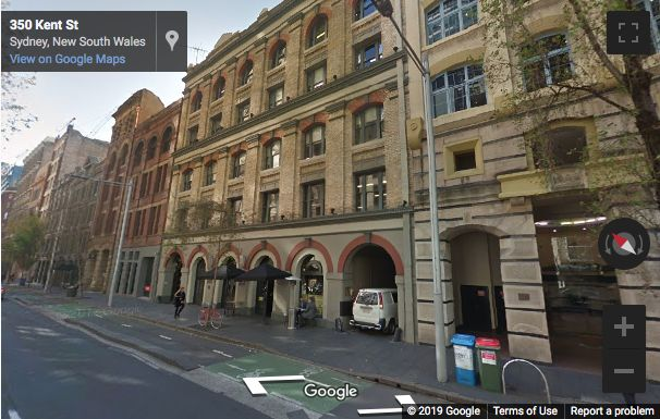 Street View image of 346 Kent Street, Sydney, New South Wales
