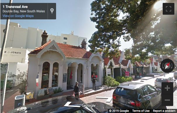 Street View image of Transvaal Avenue, Double Bay, Sydney, New South Wales