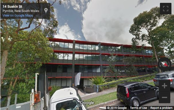 Street View image of 14, 16 Suakin Street, Pymble, NSW, Sydney, New South Wales