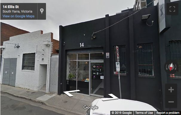 Street View image of 14 Ellis Street, South Yarra, Melbourne, Victoria