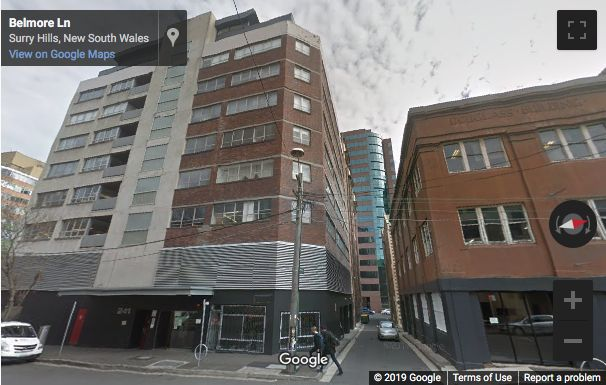 Street View image of 241 Commonwealth Street, Surry Hills, Sydney, New South Wales