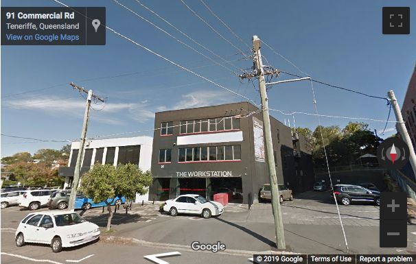 Street View image of 91 Commercial Road, Teneriffe, Brisbane, Queensland