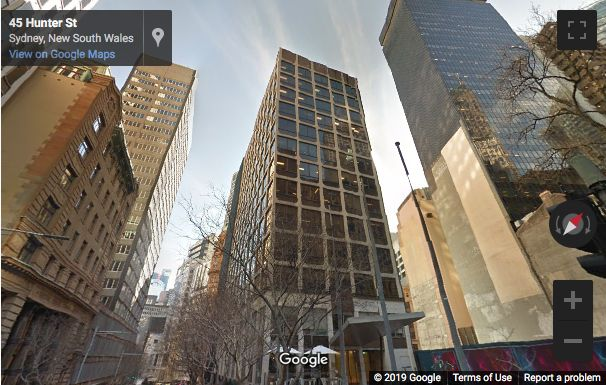 Street View image of 37 Bligh Street, Sydney, New South Wales