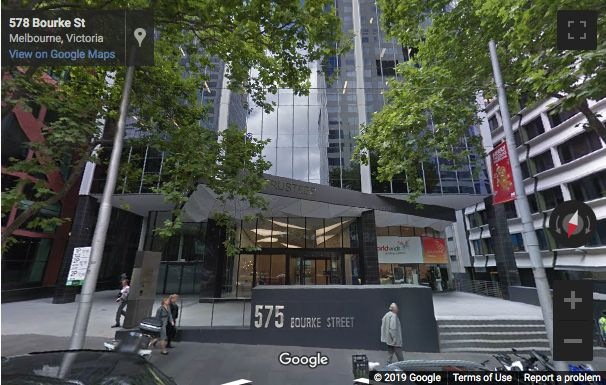 Street View image of 575 Bourke St, Melbourne, Victoria