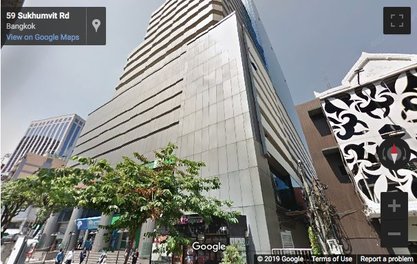 Street View image of UBC II Building, 591 Sukhumvit Road, North Klongton, Bangkok