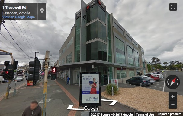 Street View image of Corner Treadwell Road and Keilor Road, Essendon, Melbourne, Australia