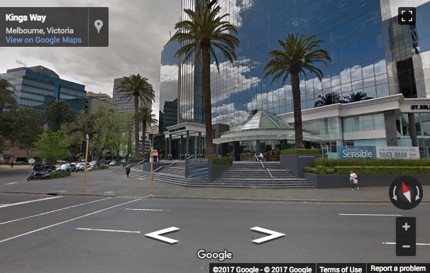 Street View image of 1 Queens Road, Melbourne, Australia