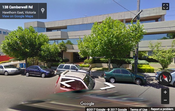 Street View image of 123 Camberwell Road, Camberwell, Melbourne, Australia