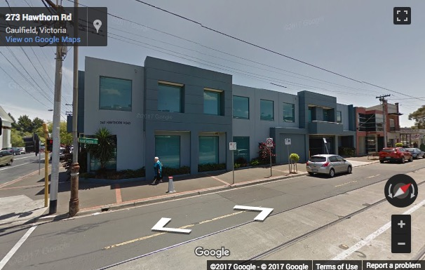 Street View image of 242 Hawthorn Road, Caulfield, Melbourne, Australia