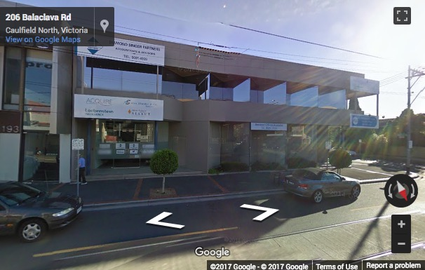 Street View image of 189-191 Balaclava Road, Caulfield, Melbourne, Australia
