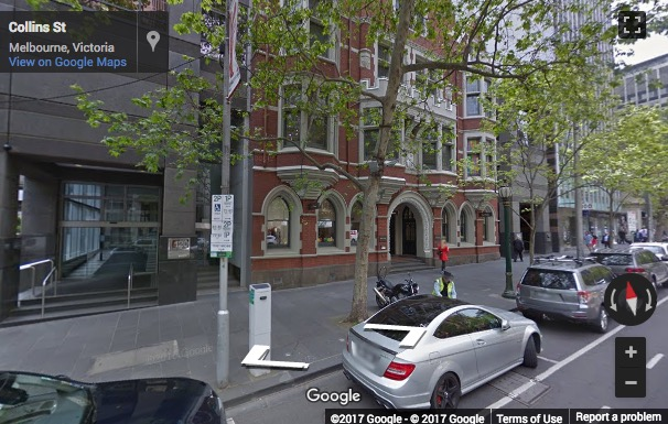 Street View image of 120 Collins Street, Level 50, Melbourne, Australia