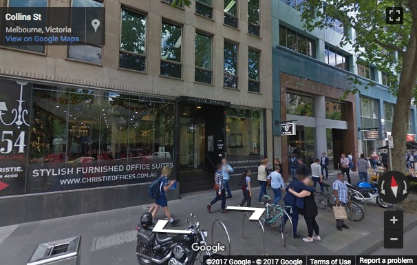 Street View image of 454 Collins Street, Melbourne, Australia