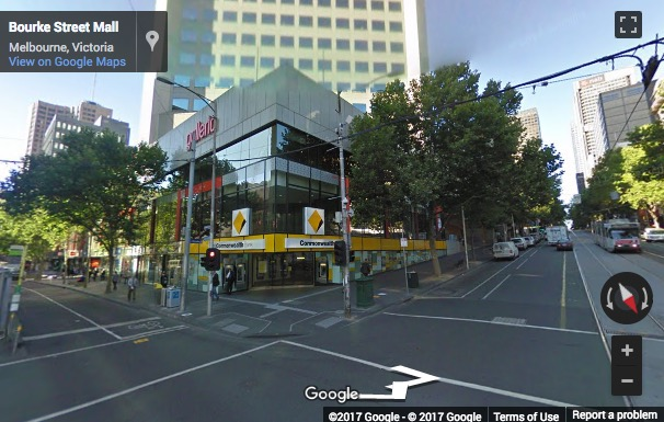 Street View image of 385 Bourke Street, Level 39, Melbourne, Australia