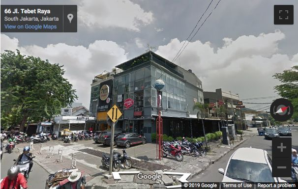 Street View image of LIMATIGA Building (above Comic Cafe), Jl. Tebet Raya no. 53, Jakarta