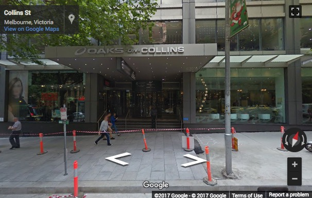 Street View image of Collins Street Tower, 480 Collins Street, Melbourne, Australia