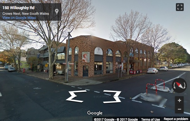 Street View image of Executive Centre, 119 Willoughby Road, Crows Nest, Sydney, Australia
