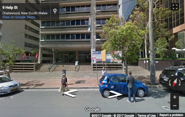 Street View image of 10 Help St, Chatswood, Australia