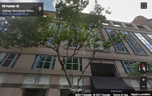 Street View image of Chifley Tower, 2 Chifley Square, Sydney, Australia