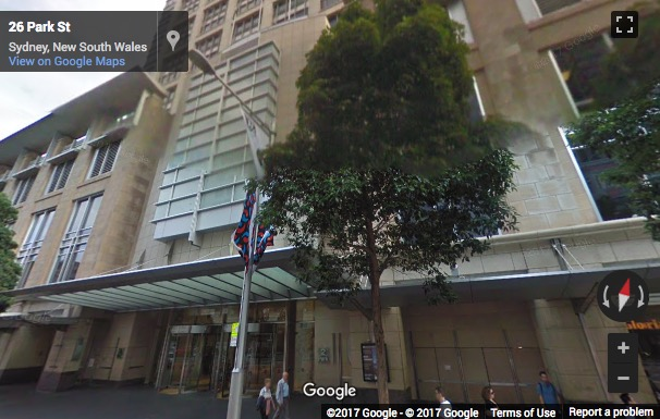 Street View image of Levels 38 & 39, The Sydney Citigroup Centre, 2 Park Street, Sydney, Australia