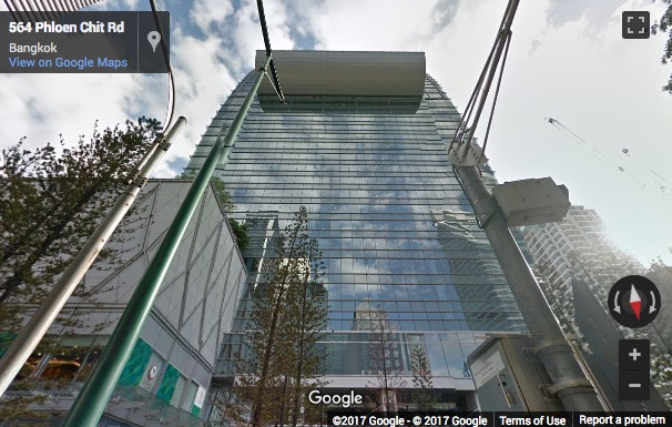 Street View image of Park Ventures Ecoplex, Lumpini, Patumwan, 57 Wireless Road, Bangkok, Thailand