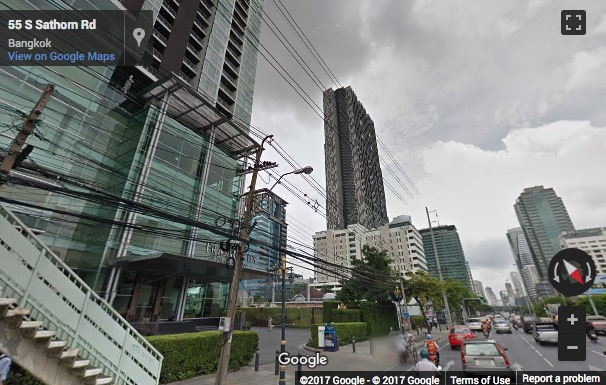 Street View image of 37th Floor, 100 North Sathorn Road, Bangkok, Thailand