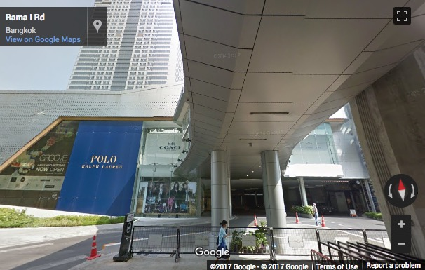 Street View image of 999/9 Rama I Road, Level 29, Khuwaeng Patumwan, Bangkok, Thailand