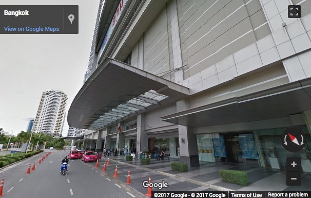 Street View image of Zen & Central World, 4/5 Rajdamri Road, Pathumwan District, Bangkok, Thailand